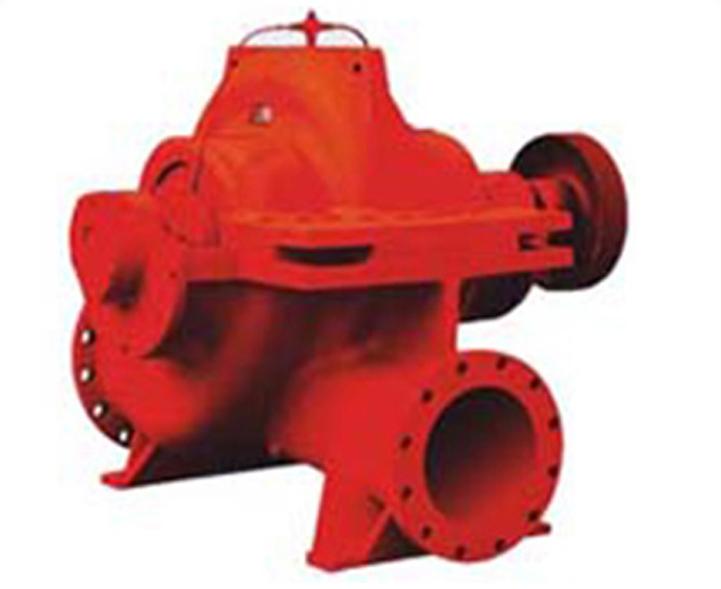 单级双吸中开蜗壳式消防泵
